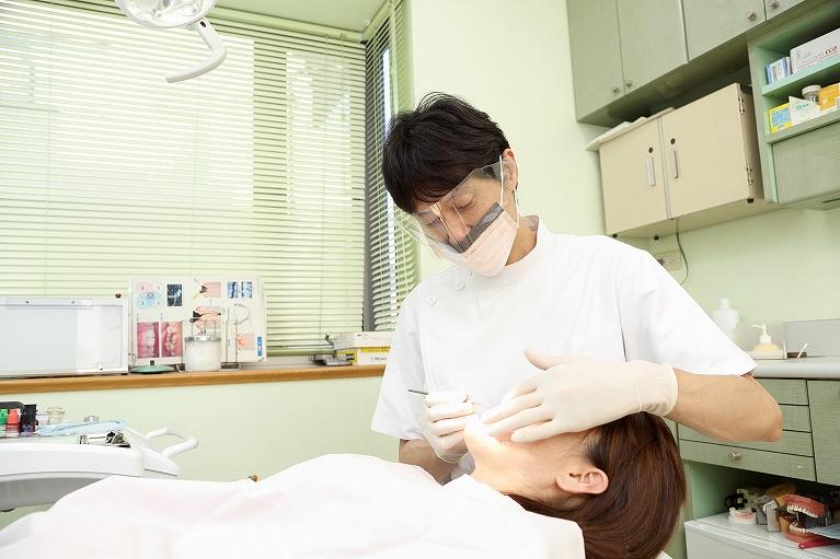 1.全ての診療を歯科医師が責任もって行います。