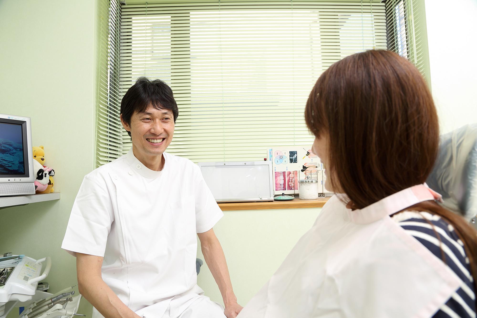 STEP1.口腔内診査・応急処置